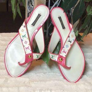 Louis Vuitton monogram sandals